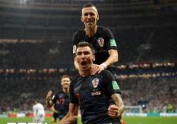 [러시아WC] '언더독의 집중력' 크로아티아, 사상 첫 월드컵 결승