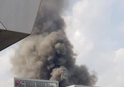 마곡 화재, 화마로 뒤덮인 공사장…긴박했던 상황 보니?