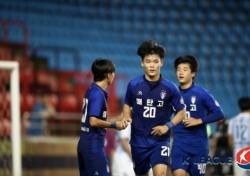 [U17 챔피언십] 매탄고 오현규, '결승전의 사나이'