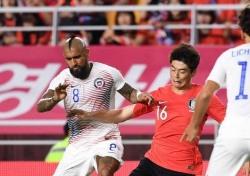 [한국-칠레] '이기지 못해 비긴' 한국, 칠레와 0-0 무승부