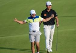 브라질 골프 유학생 하진보 샷 이글로 AAC 5위