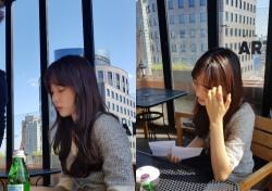 윤소희, 단아함 가득한 근황 사진 공개…'아나운서세요?'