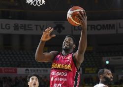 [KBL] '메이스-그레이 47득점 합작' LG, KT에 91-73 대승