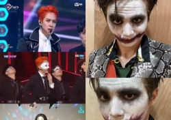 김동한, 할로윈 맞아 퍼펙트 선물…뱀파이어→조커→가오나시 '3단 변신'
