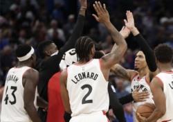 [NBA] 토론토 '파죽의 8연승'