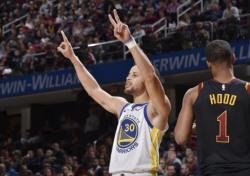 [NBA] '커리 42득점 폭발' 골든스테이트. 클리블랜드 꺾고 2연승