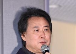 [포토;뷰] 기자회견에 임하는 김창환 회장