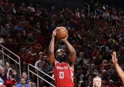[NBA] 엄청난 득점페이스, '하든의 휴스턴'