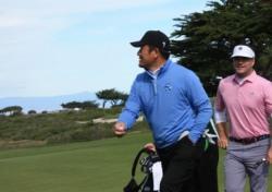 """컷탈락 위기 최호성 """"계속 PGA투어에서 뛰고 싶다"""""""