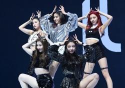 [포토;뷰] ITZY JYP 막내 그룹 화려한 데뷔