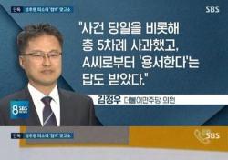 김정우 의원 성추행 혐의 피소, 상황 무마한 줄 알았지만...'억울'