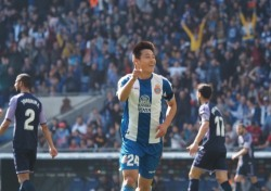[라리가] '중국 에이스' 우레이, 5경기 만에 데뷔골 폭발