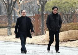 [포토;뷰] 1차 공판 출석하는 이정현 대표-김창환 회장