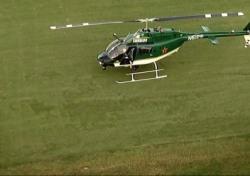 개막 앞두고 TPC 소그래스에 헬기 비상착륙