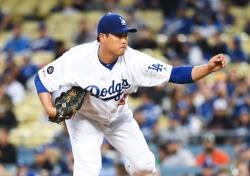[MLB] 류현진 7이닝 2실점 완벽투, 시즌 2승