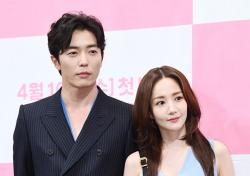 [포토;뷰] 김재욱-박민영 최강 비주얼 캐미