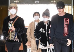 [포토;뷰] 방콕으로 떠나는 방탄소년단