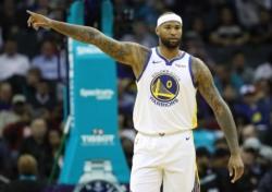 [NBA] '재활 선택' 커즌스, 플레이오프 복귀 불투명