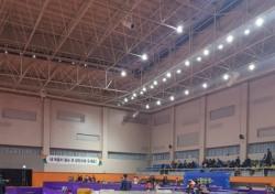 [스포츠 사진 한 장] '성금도 교육' 중고탁구연맹, 강원도 산불 피해 복구 성금