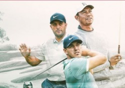 우즈-켑카-몰리나리 PGA챔피언십 한 조로 출발