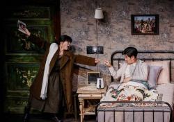 """[현장;뷰] """"안재욱 복귀부터 김성령 5년만 연극""""…'미저리', 1년 3개월 만의 귀환"""
