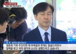 """논란 속 조국, 이번엔 여배우…의혹 제기 유튜버 """"명백한 정보 있다"""""""