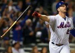 [MLB] '홈런 단독 선두' 신인 알론소, 새 역사 쓸까