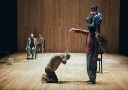 """[종합] 연극 '휴먼푸가', """"연기하기 않고 춤추지 않고 노래하지 않는다"""""""
