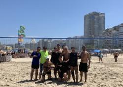 [배구로 세계를 만난다_in 브라질⑤] (14) 코파카바나 해변에서 비치발리볼을 하다