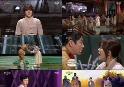 [MBC 연기대상] 뮤지컬 '여명의 눈동자'가 불러일으킨 향수