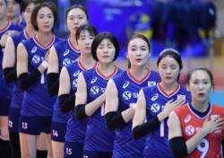 [배구] 여자대표팀, 전 경기 셧아웃 승...도쿄까지 단 두 걸음