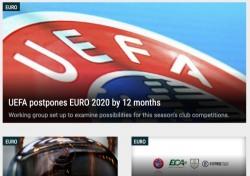 유로2020, 코로나19 확산 여파로 1년 연기 결정...코파 아메리카도 백기