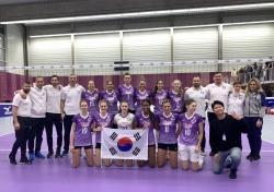 [배구로 세계를 만난다_in 헝가리②] (33) 강렬한 보라색의 헝가리 배구 직관