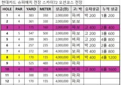 고진영-박성현 현대카드 슈퍼매치 황금률 무승부