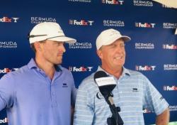 64세 프레드 펑크는 PGA 컷 통과, 아들 테일러는 탈락