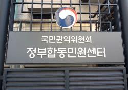 대구경북 행정기관 민원서비스 종합평가 낙제점