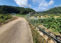 봉화군 야생동물 피해예방시설 설치사업 지원....최대 1천만원까지, 내달1일까지 신청