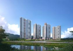제일건설, '경산 하양 제일풍경채' 7일 견본주택 오픈…614가구 공급