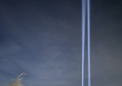 울릉도 최초 야간 레이저쇼…아름다운 섬 비경과 어울린 황홀감 선사