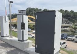 예천 한천 둔치 주차장 차량침수피해 걱정끝…4억여원투입 침수위험 알림시스템 운영
