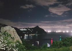 [헤럴드 포토]밤바다 수놓는 어화(漁花) 불빛 '황홀경'