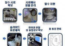 국립낙동강생물자원관,울릉도 저동 봉래폭포서 미기록 담수선형동물 처음 발견