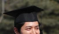 """박보검 """"쑥스럽네…저 오늘 졸업해요"""""""