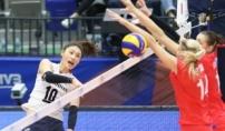 한국 여자배구, 40년만에 세계 5위 러 꺾었다