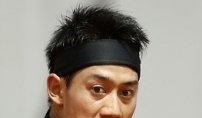 日니시코리, '황제' 페더러 2-0 제압 '기염'