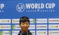 김준호, 월드컵 男500m '깜짝 금메달'