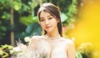가수 이상미 결혼식…수영장 인연 4살 연하