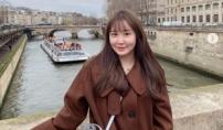이경규 딸 이예림, 파리 여행…청순 미모 발산