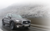 The all-new QX50: An elegant ride powered by a smart turbo engine