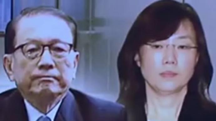 조윤선, 눈물 '펑펑'…김기춘, 설거지에...